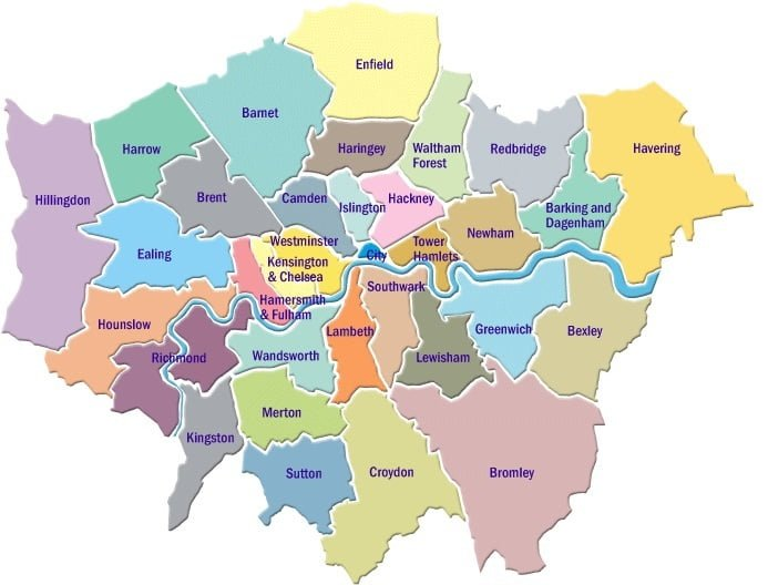 North London Areas Map.Contact Us Kgh Construction Ltd